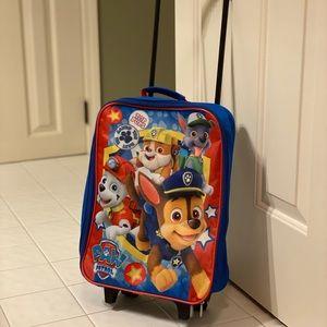 Paw Patrol toddler luggage bag